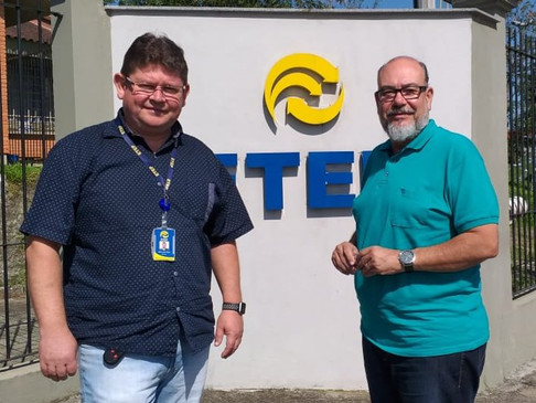 CRT-RS visita ETEP, em Portão