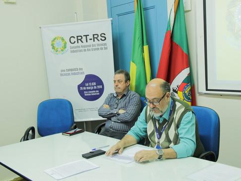 CRT-RS produz sua 3ª Reunião Plenária Ordinária
