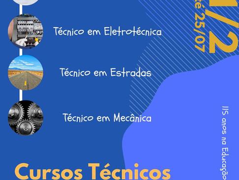 Escola Técnica Parobé está com inscrições abertas até dia 25 de julho