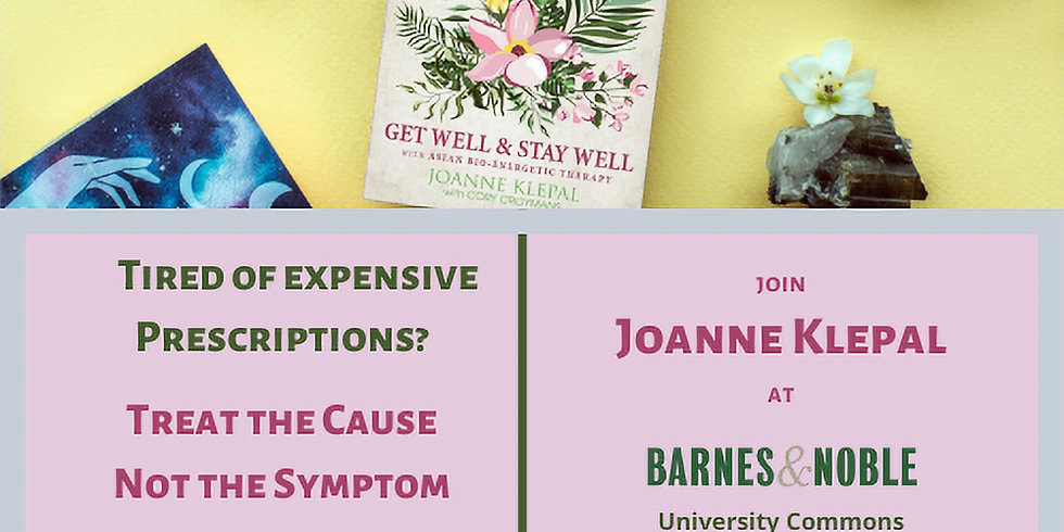 Barnes & Noble | University Commons, Boca Raton | Book Signing with Joanne Klepal