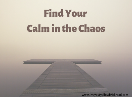 Coronavirus: Find Your Calm in the Chaos