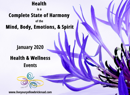 Welcome 2020 with these Health & Wellness events