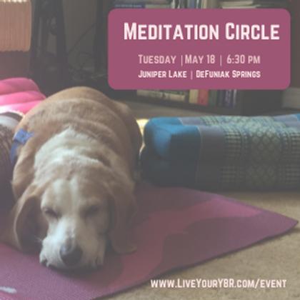 Meditation Circle - May