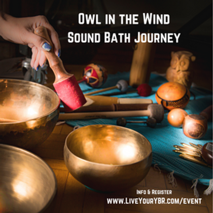 Owl in the Wind Sound Bath Journey