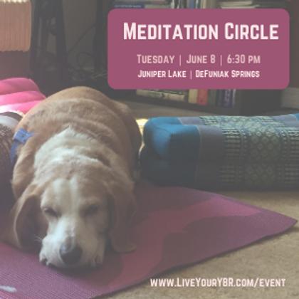 Meditation Circle - June