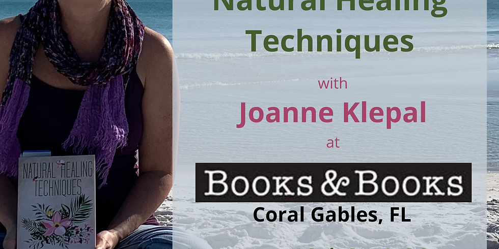 Books & Books   Coral Gables   Book Signing with Joanne Klepal