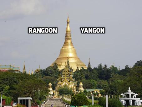 Rangoon…Yangon
