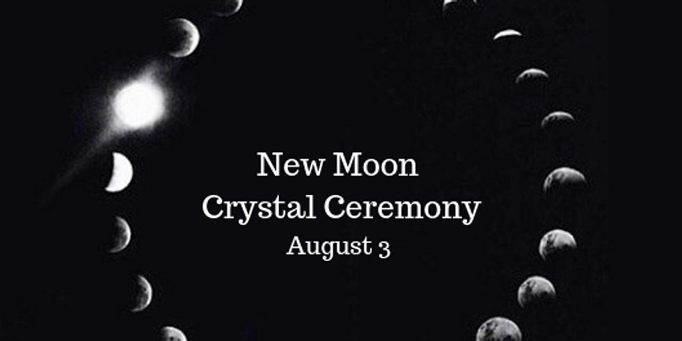 New Moon Crystal Ceremony
