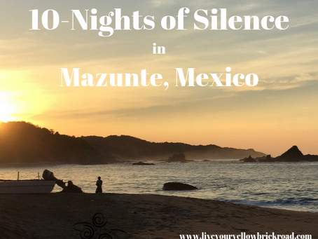 Did I hear you say…10 Nights of SILENCE ?!