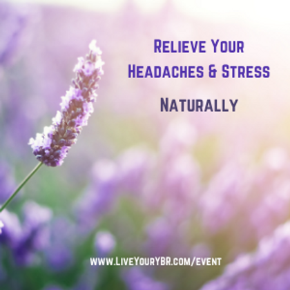 Relieve Headaches & Stress Naturally with EFT