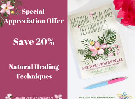 Special Appreciation Offer
