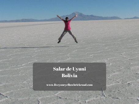 The Road to Salar de Uyuni