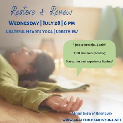 Restore & Renew