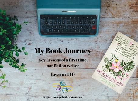 Key Lessons of Writing a Nonfiction Book: Lesson #10