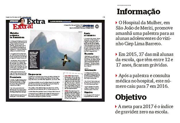 Nosso Instituto, Hospital da Mulher Heloneida Studart, Ciep Lima Barreto, São João do Meriti, @nossoinsituto, ong, saúde, Rio de Janeiro, Extra