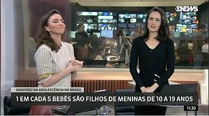 Globonews, Nosso Instituto, Ana Teresa Derraik, Gravidez na adolescência, Rio de Janeiro, ong, saúde, Planejamento Familiar,