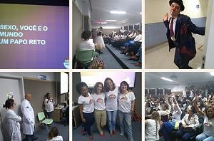 Nosso Instituto, @nossoinstituto, ong, saúde,graidez na adolescência, Rio de Janeiro, Doutoes da Alegria