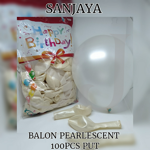 BALON PEARLESCENT 25PCS