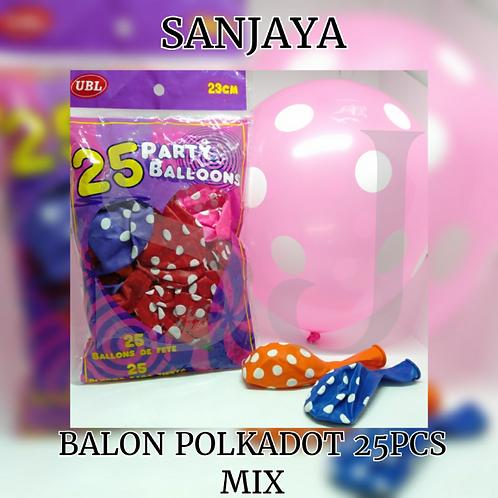BALON POLKADOT 25PCS