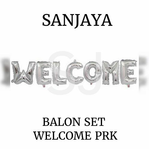 BALON SET WELCOME