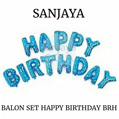 BALON SET HAPPY BIRTHDAY