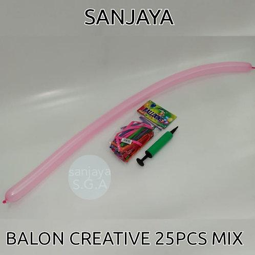BALON CREATIVE 25PCS MIX