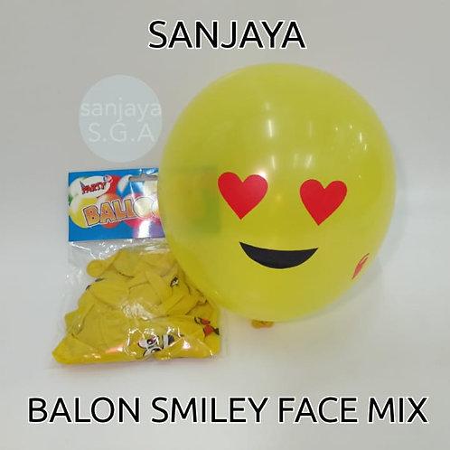 BALON SMILEY FACE MIX