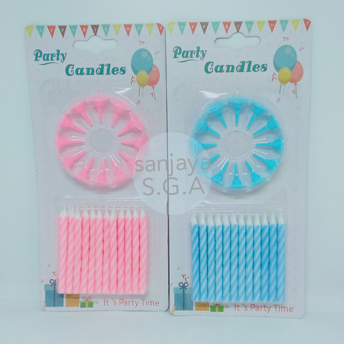 CANDLE STRIPED KECIL POLOS