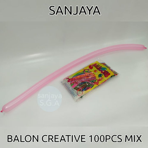 BALON CREATIVE 100PCS MIX