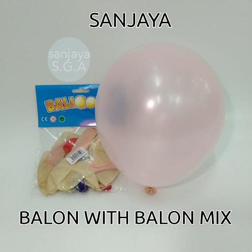 BALON INSIDE BALON MIX