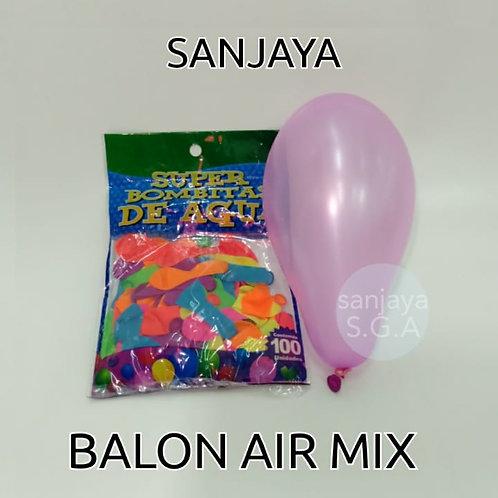 BALON AIR 100PCS MIX