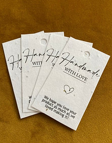 Seeded Paper Gift Tags