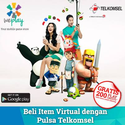 Launch poster: WePlay expands to Indonesia