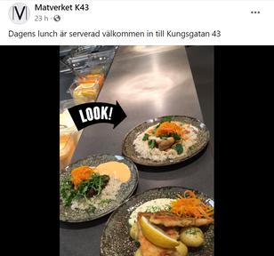 Matverket på Facebook