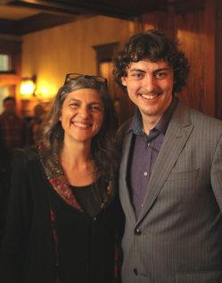 Maria Emilia Fermi and Brando Fermi Crawford
