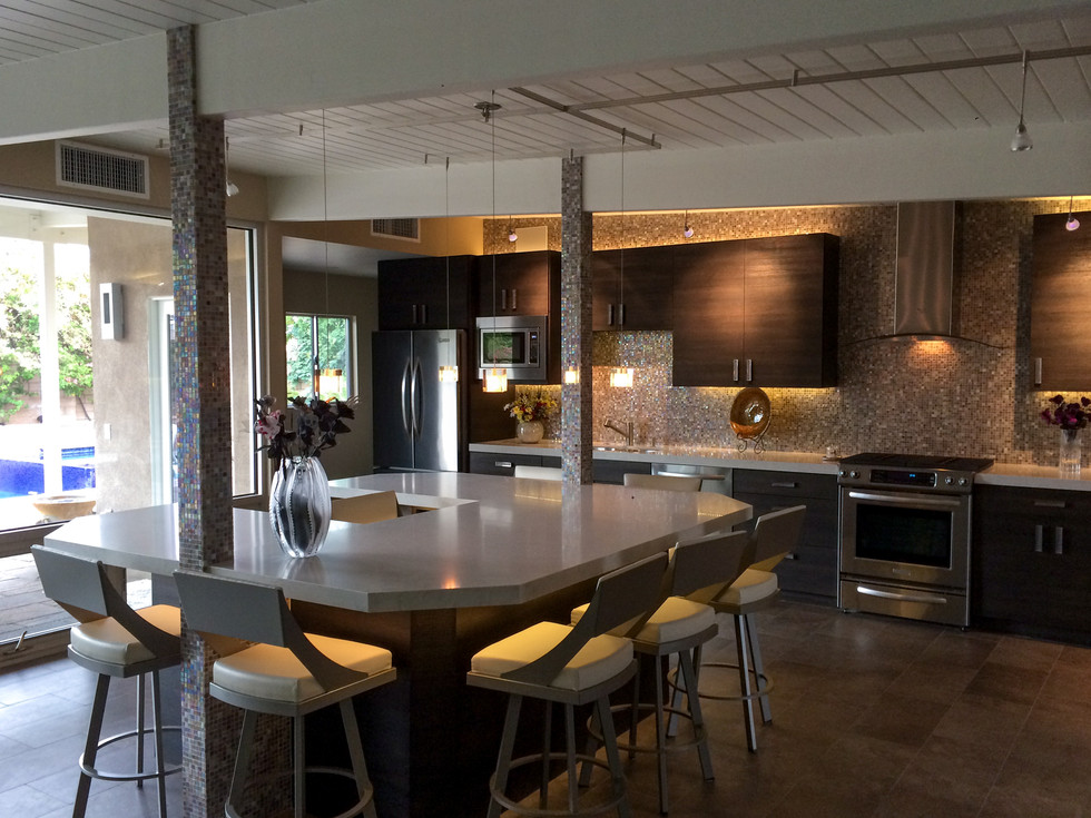 Palm Springs Kitchen Design   Designs by Patrice