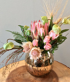Seasonal vase arrangement