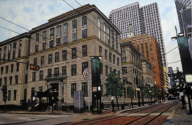 La poste et le bâtiment fédéral