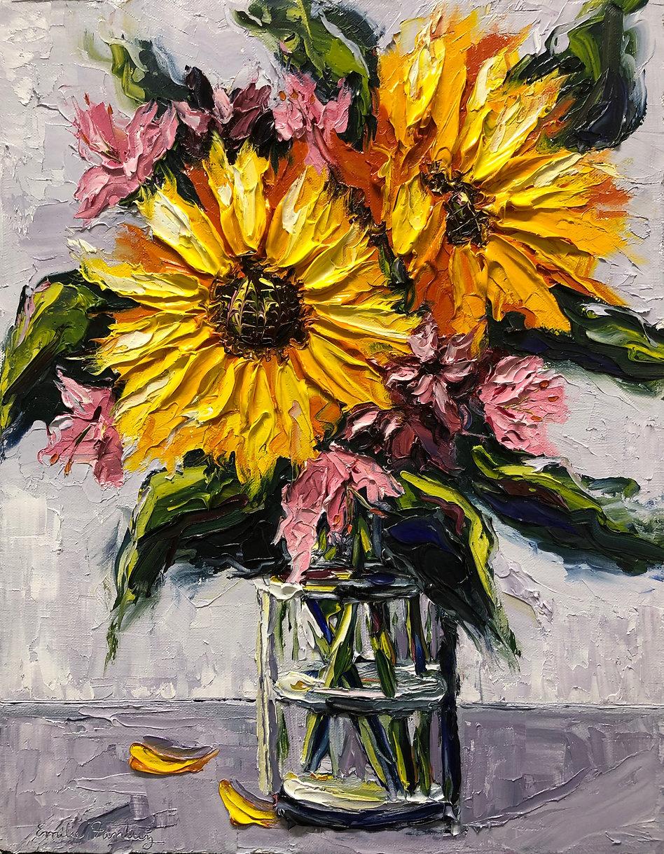 Sunflowers, Emilie Fantuz