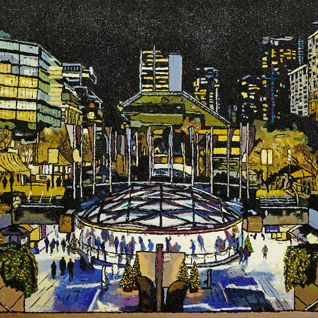 Christmas in Robson Square