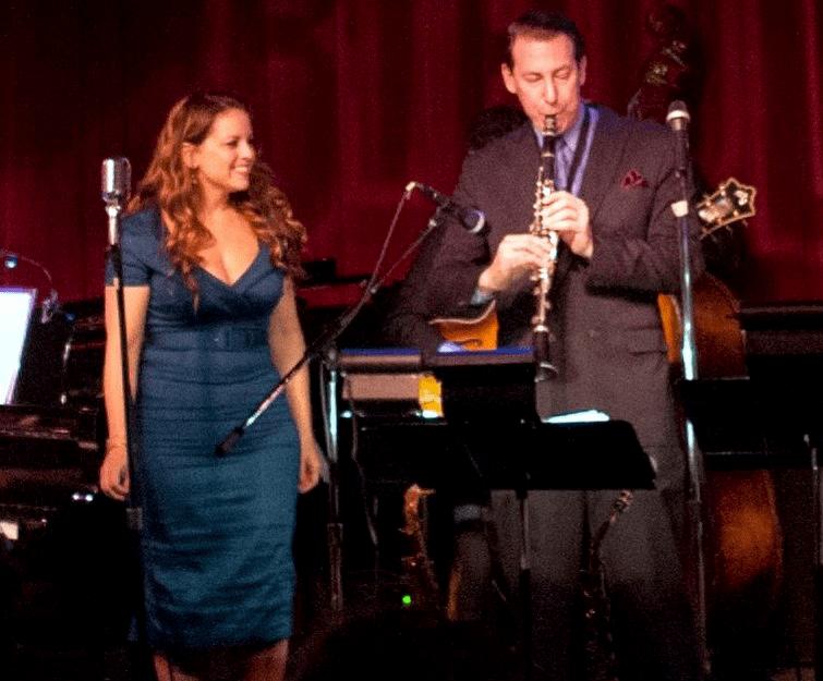 Dan Levinson and favorite singer Molly Ryan