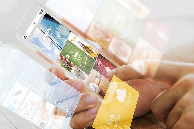 App-skjermer
