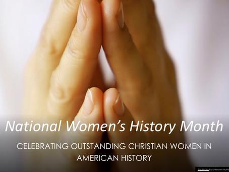 Celebrating Outstanding Christian Women in American History: Frances Jane Crosby