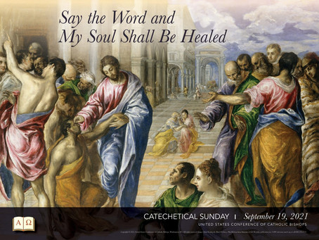 Today is Catechetical Sunday!