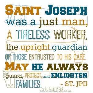 St. Joseph, pray for us!