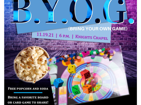 Our next young-adult gathering!