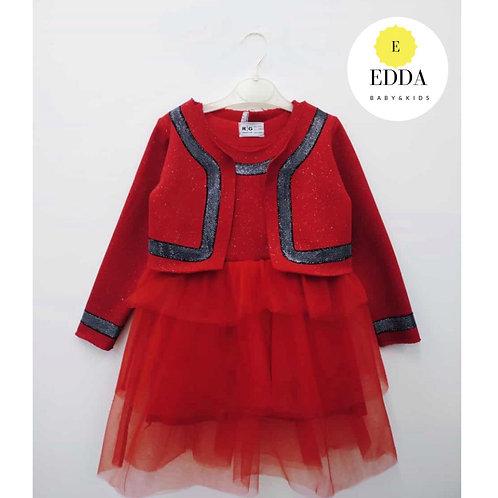 Kırmızı Ceketli ELBİSE