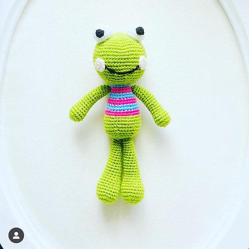 Amugurumi Kurbağa Bebek