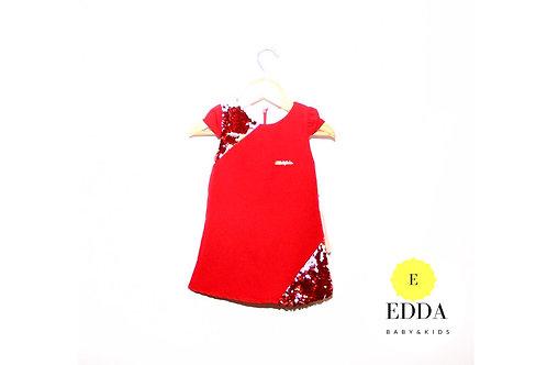 Payet Desen Elbise (1-4 yaş )