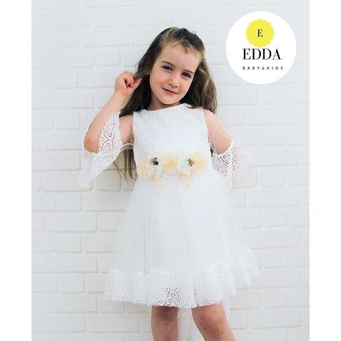Güpür Detay Elbise (1-6 yaş )